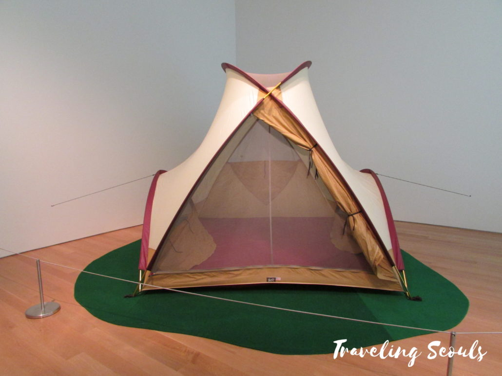 grand rapids art museum gram michigan camping tent