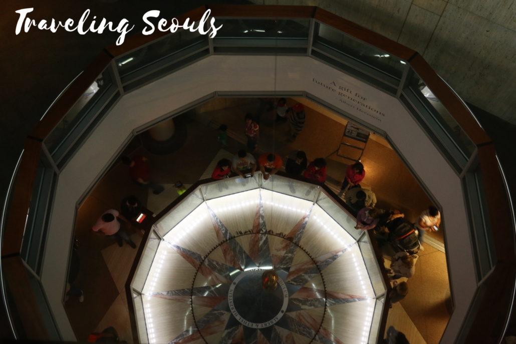 HMNS Houston Museum of Natural Science Texas singing pendulum