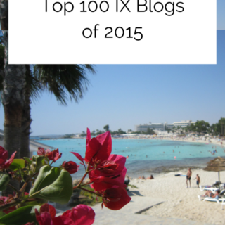Winner of the Top 100 IX Blogs of 2015