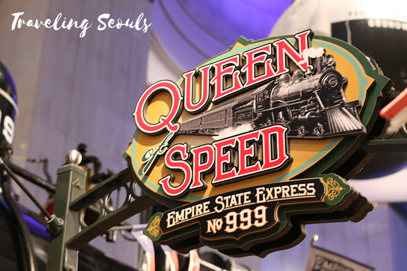 model train seattle needle chicago museum of science and industry illinois queen speed sign