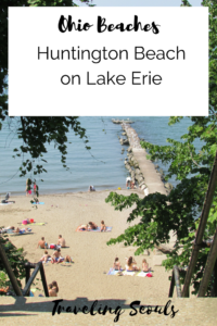 Huntington Beach Ohio pinterest graphic
