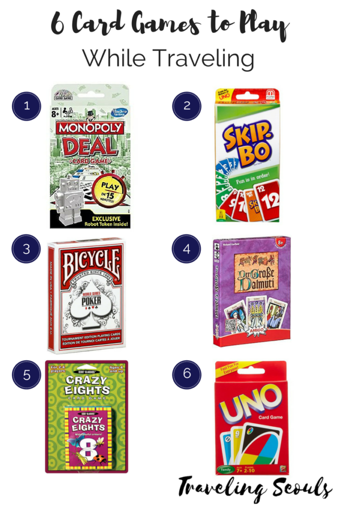 6 six card game recommendations while traveling
