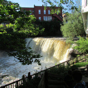 chagrin falls waterfall ohio cleveland instagram copy