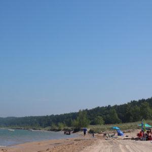 mears state park pentwater michigan lake michigan campers beachside lake square