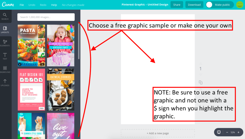 Make a Pinterest Graphic with Canva 4
