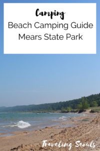 Mears State Park Pentwater pinterest graphic