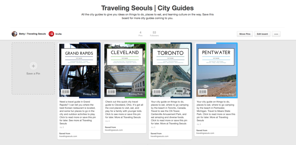 Traveling Seouls Old Pinterest Graphics - City Guides