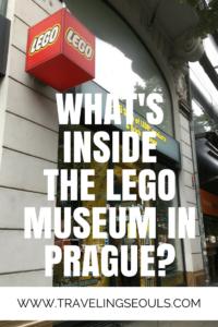 LEGO Museum in Prague pinterest graphic