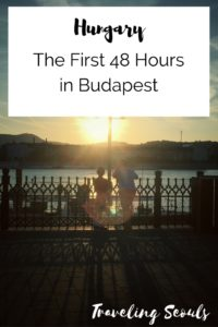 First 48 Hours in Budapest Pinterest Graphic