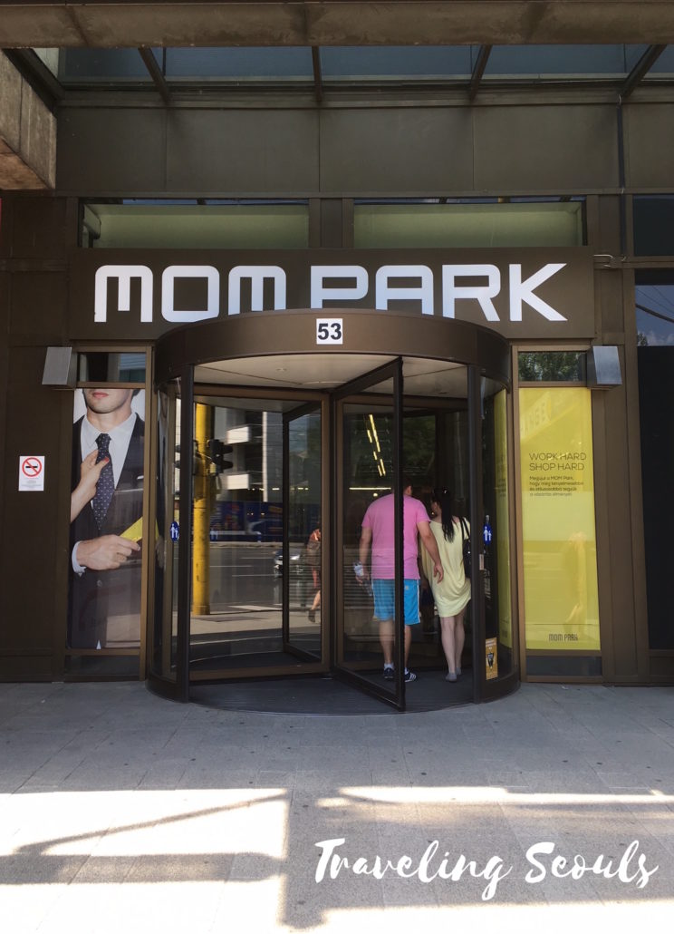 entrance MOM Park Mall Budapest Hungary
