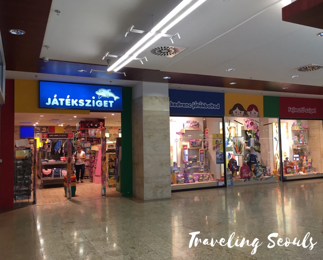 kid toy store MOM Park Mall Budapest Hungary