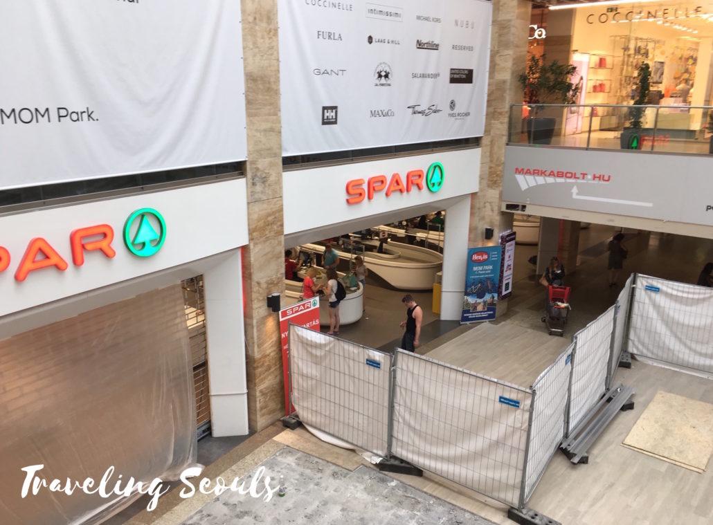 SPAR MOM Park Mall Budapest Hungary