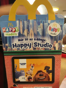 mcdonald's happy meal budapest hungary