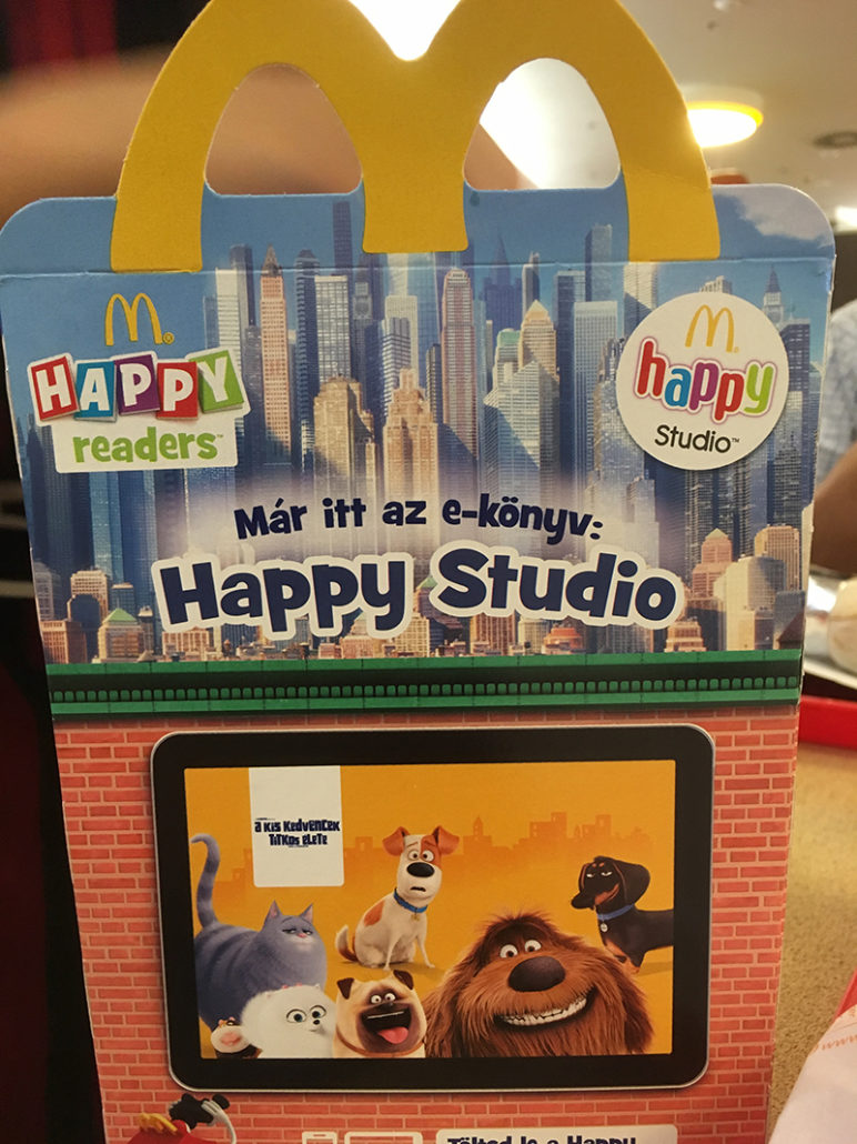 happy meal budapest hungary