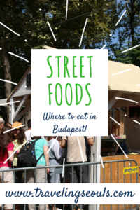 street foods budapest hungary st. stephen's day pinterest graphic