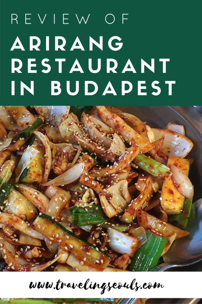 Looking for a Korean restaurant in Budapest? Check out the dishes we ate at Arirang Restaurant. Click to see more at Traveling Seouls.