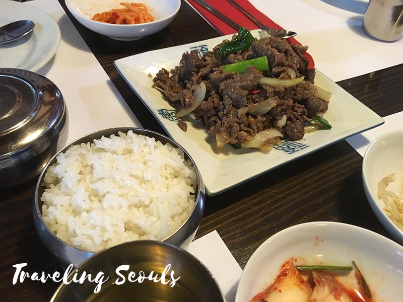 arirang korean restaurant review budapest hungary bulgogi