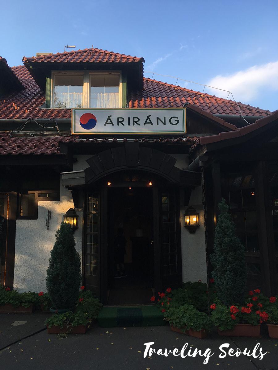 arirang korean restaurant review budapest hungary exterior