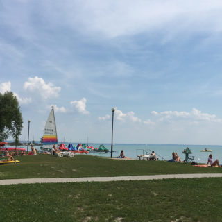 Baby Beach at Lake Balaton