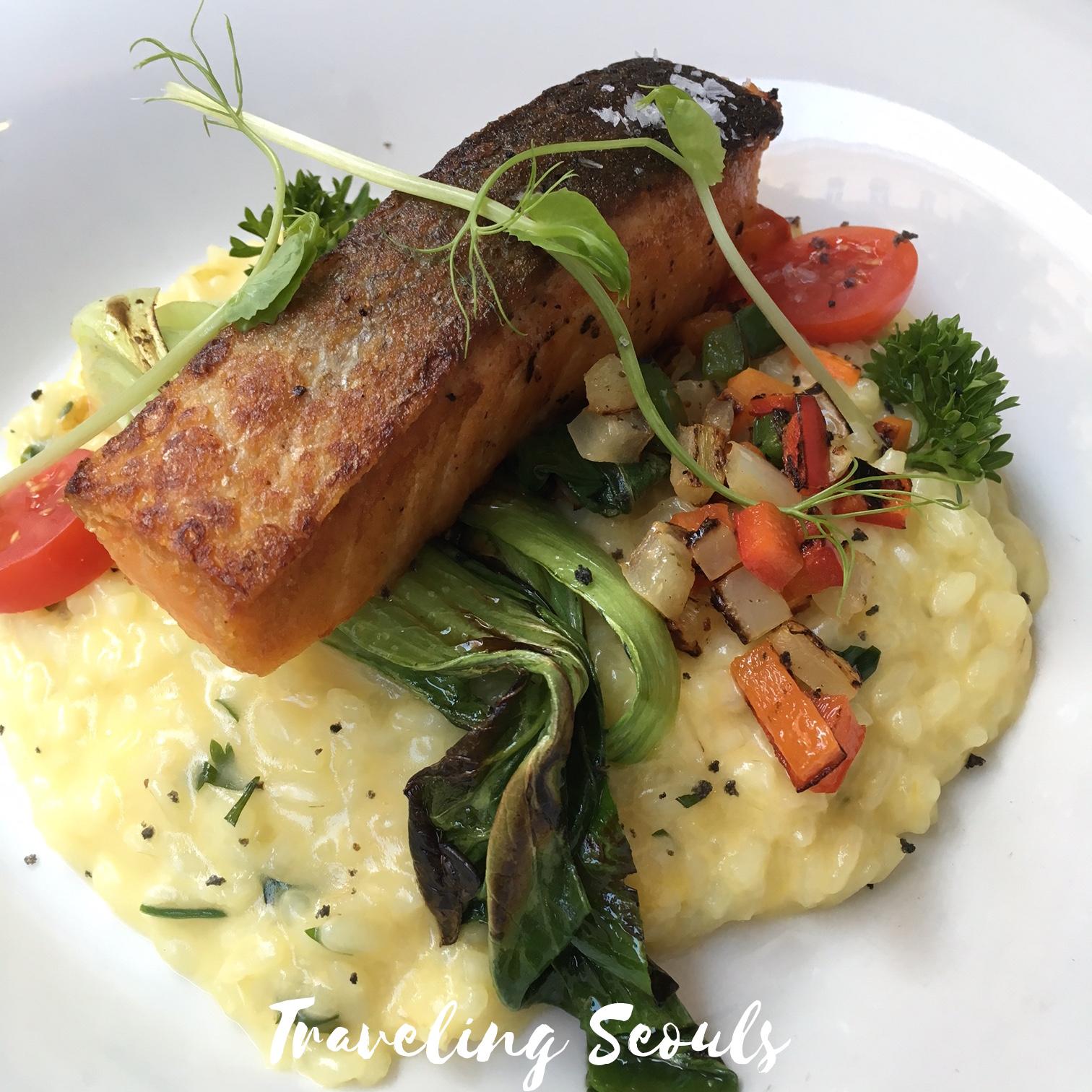 budapest bistro bisztro hungary restaurant salmon