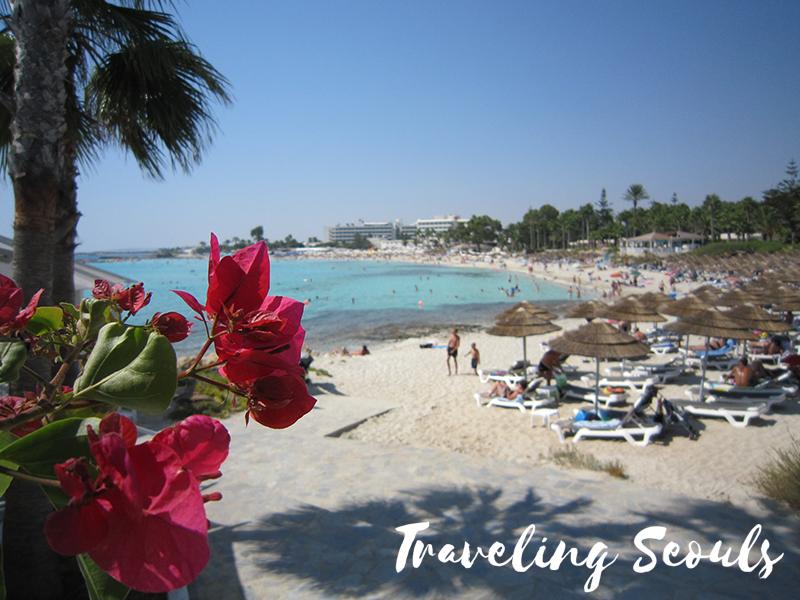 nissi beach cyprus travel blog