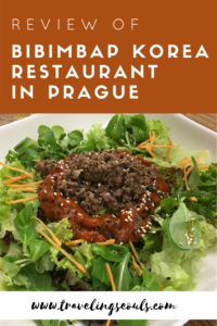 Do you have a craving to try Korean food in Prague? Check out this post and click on this image to see more delicious dishes at Bibimbap Korea in Prague, Czech Republic. See more at Traveling Seouls.