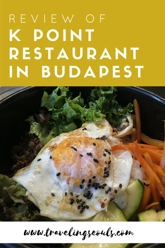 Do you have a craving for Korean food in Budapest? Then check out the delicious dishes at K Point Korean Restaurant. Click to see more images and reviews at Traveling Seouls.