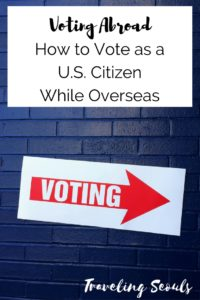 voting abroad tips pinterest graphic