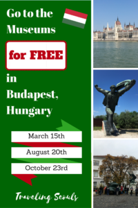 budapest hungary pinterest graphic october 23 free museum events