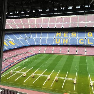 Get a Tour Inside FC Barcelona's Camp Nou Museum