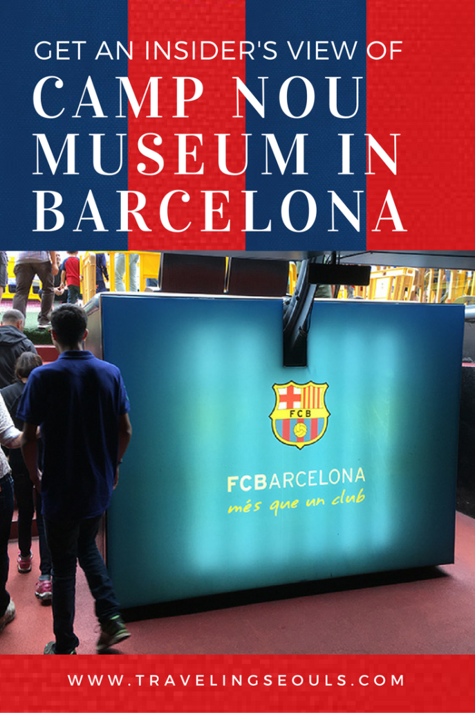 Take a tour and get an insider's view of FC Barcelona's Camp Nou. It's filled with fabulous images as if you are there. Click to see more at Traveling Seouls.