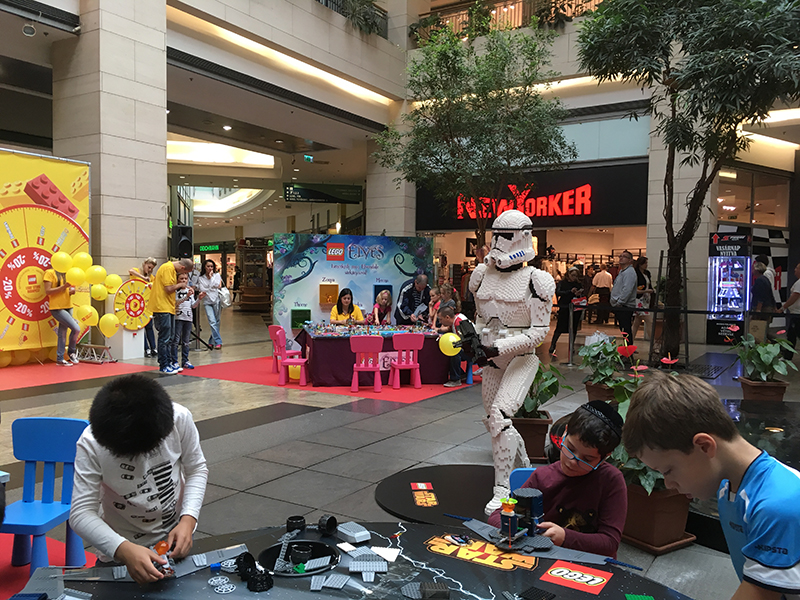 westend west end mall budapest hungary lego store event