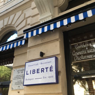 Review of Liberté Restaurant in Budapest