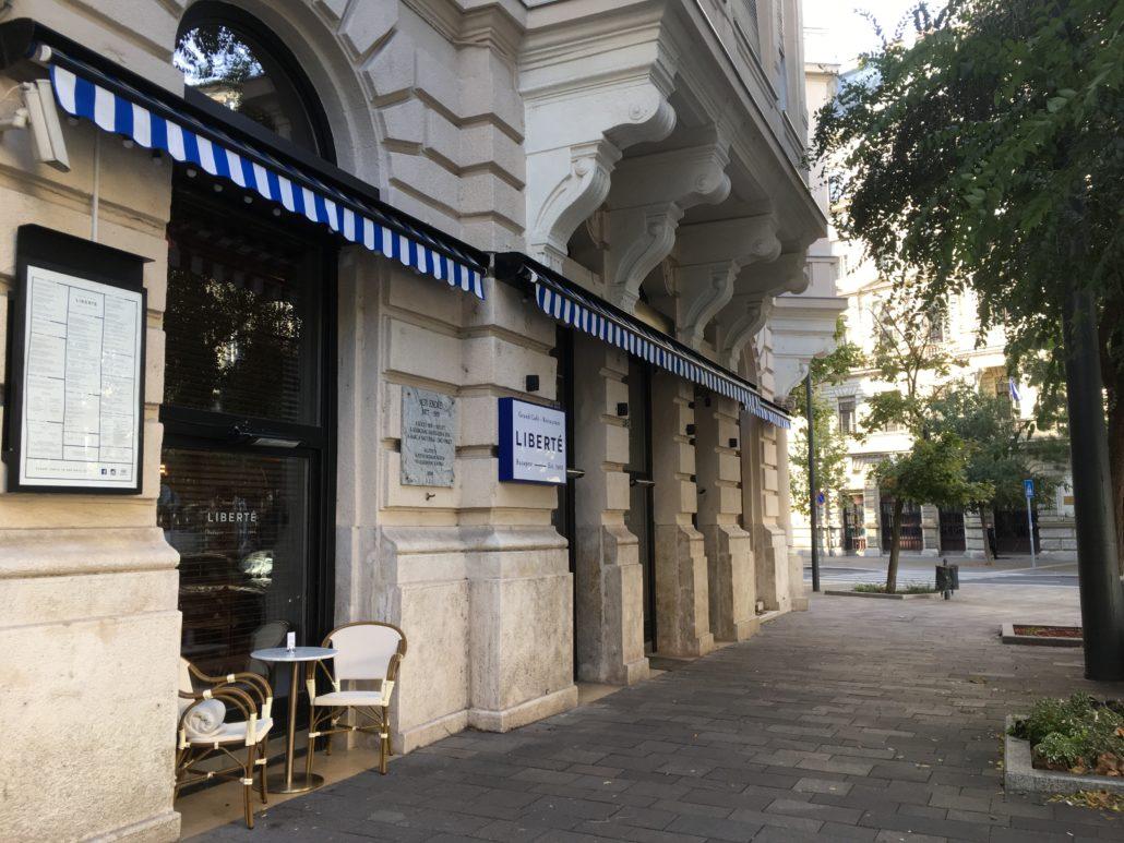 liberté restaurant budapest hungary review
