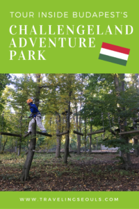 Want to get some fresh air and exercise in Budapest? Check out this cool adventure park in Buda. Click to see more images at Traveling Seouls.
