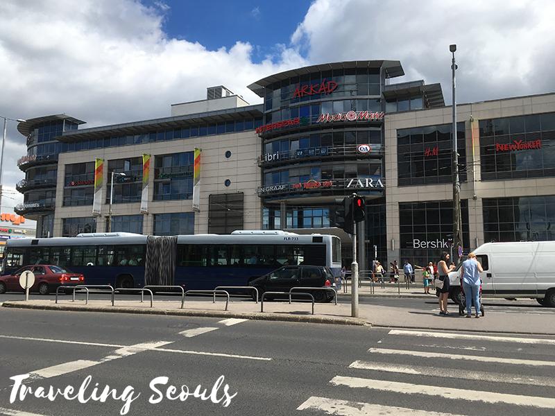 arkad-1-budapest hungary shopping mall