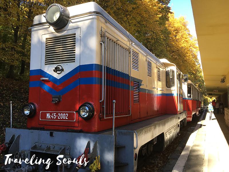 children's-railway-budapest hungary