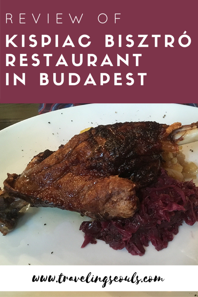 Do you have cravings for authentic Hungarian cuisine? You should check out the delicious dishes at Kispiac Bisztro. Click to see more images at Traveling Seouls.