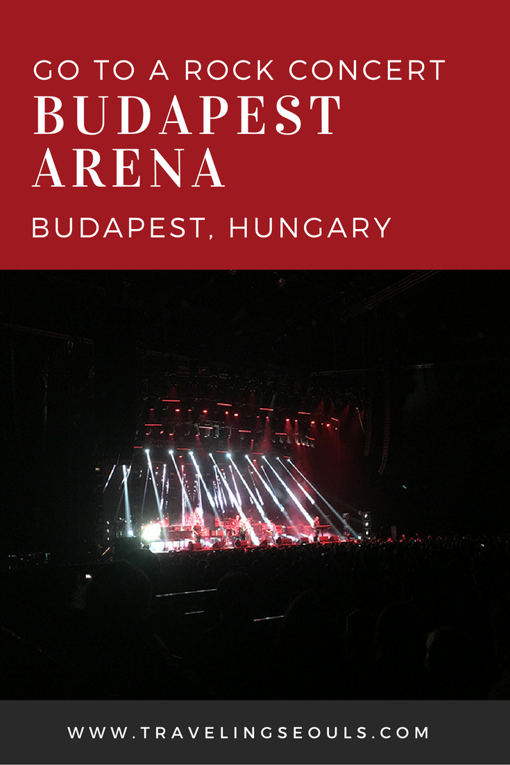 Have you ever wanted to know what it's like to go to a rock concert in Budapest, Hungary? Then check out our experience seeing The Cure live in concert at the Budapest Arena. Click to see more images at Traveling Seouls.