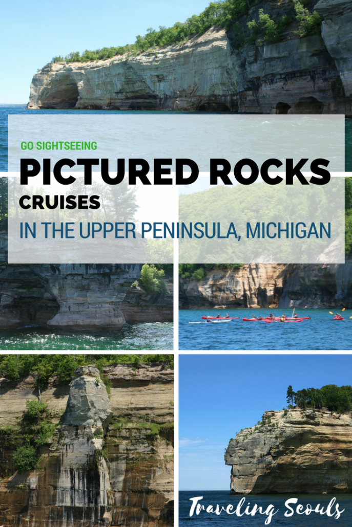 Want to know what it's like to go on cruise in the Upper Peninsula? Take a ride on Pictured Rocks Cruises. See more images at Traveling Seouls.