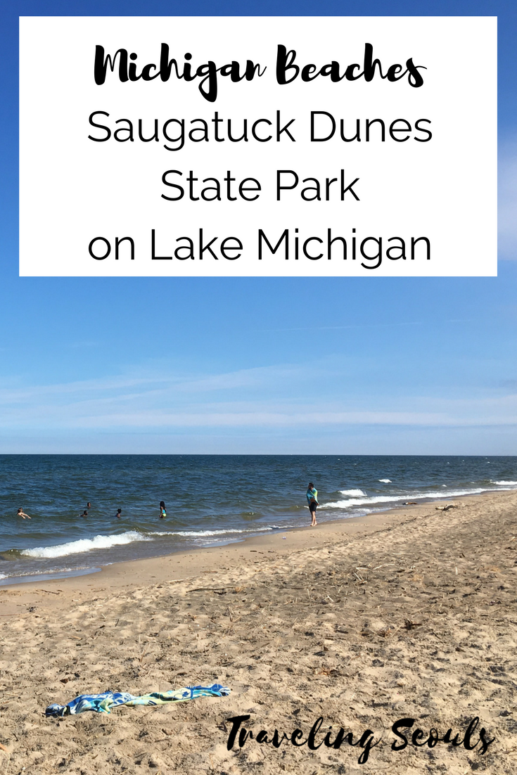 Check out the beautiful sand dunes at Saugatuck Dunes State Park on Lake Michigan. Click to see more images at Traveling Seouls.