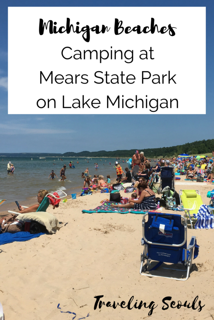 Want to go camping in Pentwater, Michigan? Here's how we enjoyed our camping experience at Mears State Park over July 4th. Read more at Traveling Seouls.